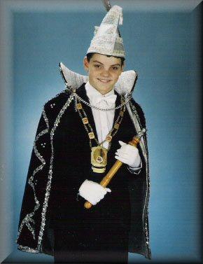 Jeugdprins Pascal I Bohlen<br />(1989 – 1990)