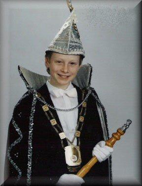 Jeugdprins Barry I Kicken<br />(1991 – 1993)