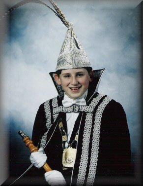 Jeugdprins Kevin I Wetzels<br />(1994 – 1995)