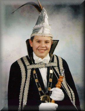 Jeugdprins Eddy I de Jonge<br />(1996 – 1997)
