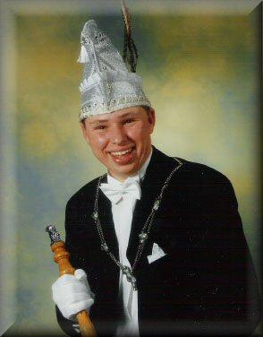 Jeugdprins Danny I de Haan<br />(1998 – 1999)