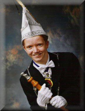 Jeugdprins Maikel I Moonen<br />(2004 – 2005)