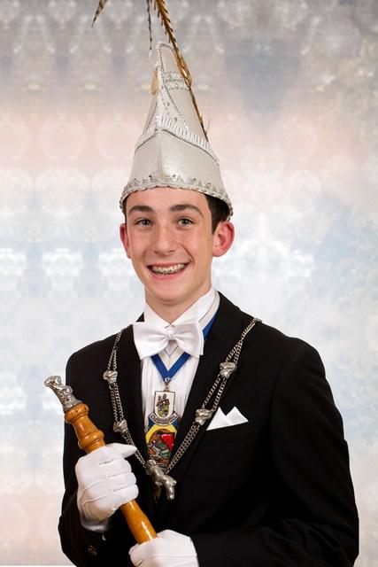 Jeugdprins Raoul I Bleeser<br />(2014 – 2015)